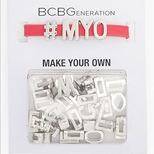 BCBG Mini Affirmation Customizable Bracelet NWT
